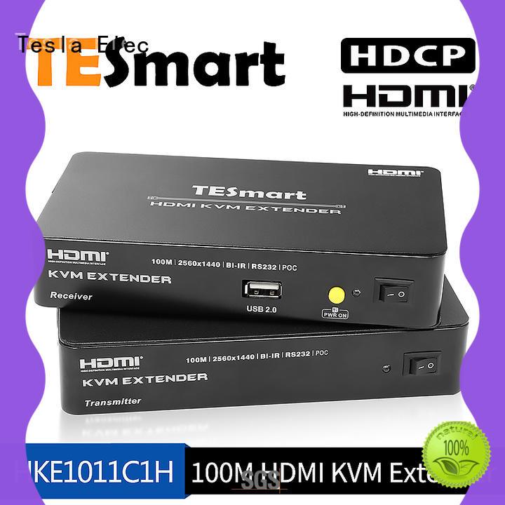 kvm extender dvi audio hdmi Tesla Elec Brand