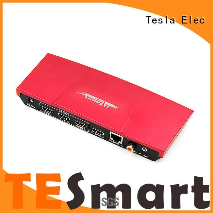 Tesla Elec compatible HDMI matrix with Extender manufacturer for computer