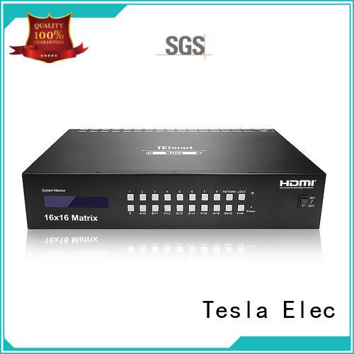 Tesla Elec best hdmi matrix switcher 8x8 manufacturer for audio