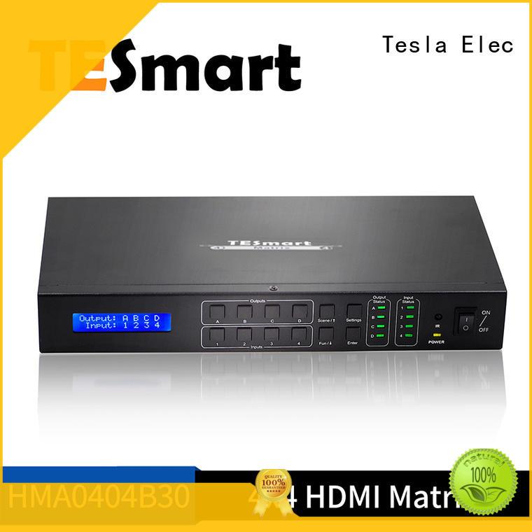 Tesla Elec hdmi matrix 4x4 customized for video