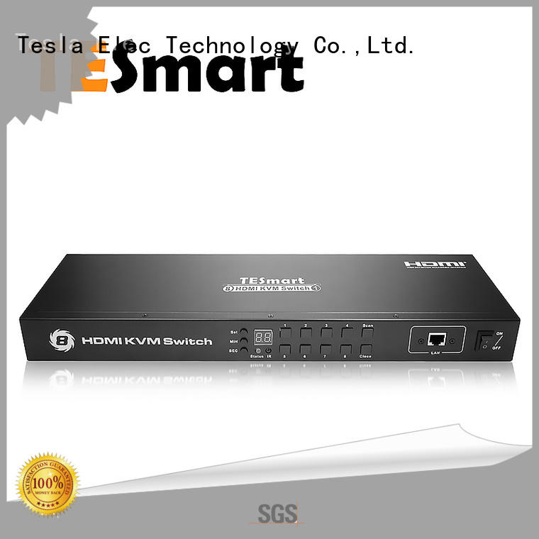 New Released High Quality 8x1 HDMI KVM Switch