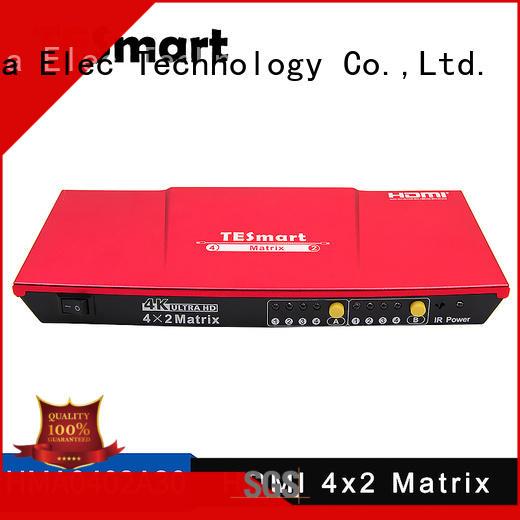 Tesla Elec Brand alloy aluminum matrix hdmi matrix manufacture