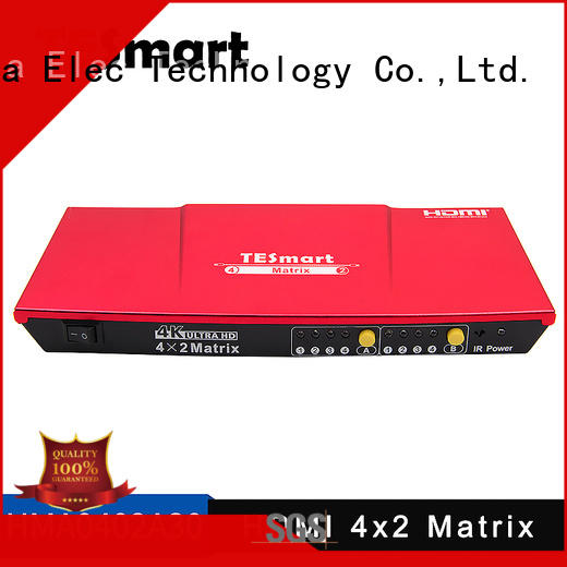 Tesla Elec Brand alloy aluminum matrix hdmi matrix manufacture