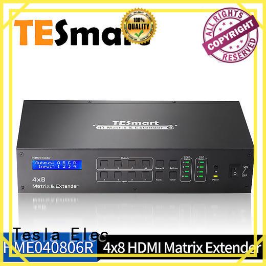 Best 4x8 HDMI Matrix W/ IR extender