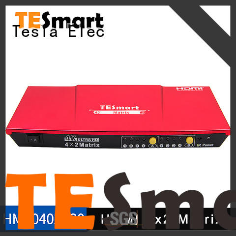 Tesla Elec 3d hdmi matrix switch supplier for computers