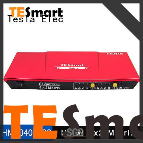Tesla Elec 3d hdmi matrix switch supplier for computers