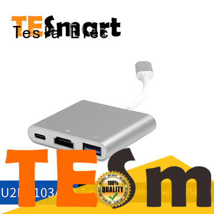 Tesla Elec usb c to hdmi adapter with good price for laptop