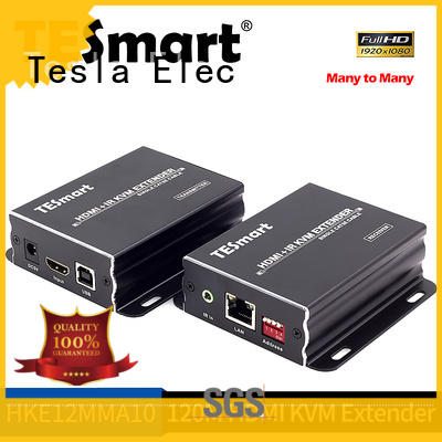 Tesla Elec latest hdmi usb kvm extender supplier for display devices