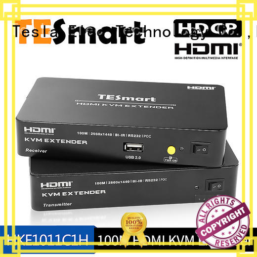 Tesla Elec compatible 4k hdmi extender factory price for TV