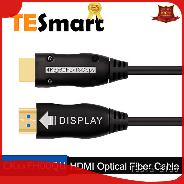 Tesla Elec high quality fiber optic cable extension directly sale for play station