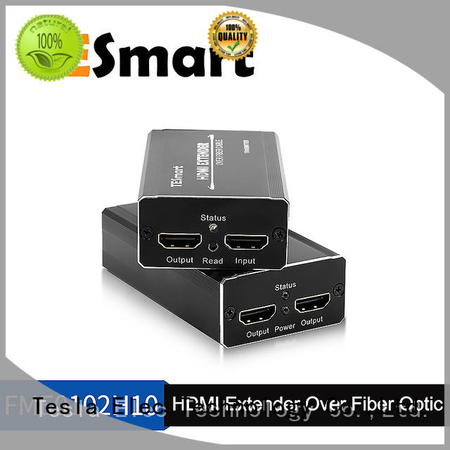 uncompressed fiber optic to hdmi converter manufacturer for 4K TV