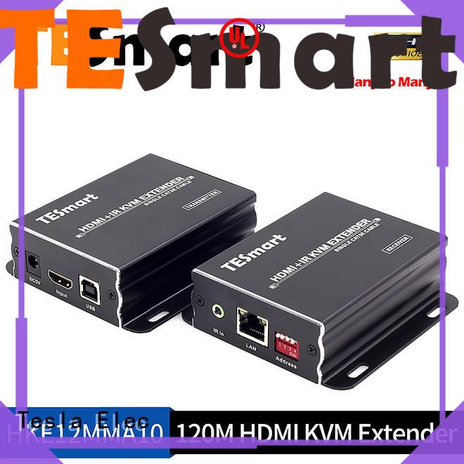 Tesla Elec audio out usb kvm extender wholesale for conference room
